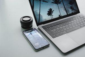 Laptop Used for making SEO Backlinks