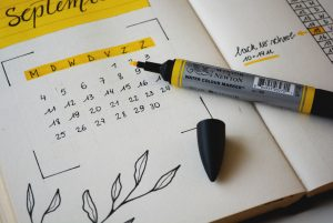 Four-day Workweek planner